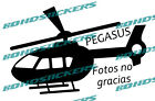 Vinilo de corte pegatina PEGASUS MAS FOTOS NO GRACIAS RACING STICKER DECAL