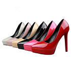 MT8 Women Pumps Platform Stiletto High Heels Party Wedding Shoes Pointed Toe New