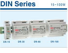 Switching Power Supply Meanwell DR-series DR-15 DR-30 DR-60 DR-100 DIN RAIL