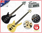 Electric Bass Guitar Maple Neck 4 String Freedom Left Hand Alder Body BIB-100L