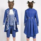 2017 Beauty And The Beast Prince Adam Costume Halloween Wedding Cos Customized