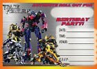 "Buy ""TRANSFORMERS CHILDRENS BIRTHDAY PARTY INVITATIONS INVITES KIDS AUTOBOT BUMBLEBEE"" on EBAY"