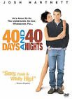 40 Days and 40 Nights DVD Josh Hartnett Shannyn Sossmon Vinessa Shaw Monet Mazur