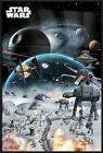 "STAR WARS - FRAMED MOVIE POSTER / PRINT (BATTLE COLLAGE) (SIZE: 24"" X 36"")"