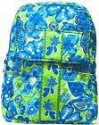 Small Backpack Handbag New Cotton Quilted Floral Beautiful Multicolored