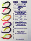 Kelly's Firetail - Pre-Rigged Scented Artificial Bass Worm - Choice of 6 Colors