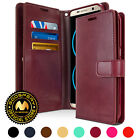 for Galaxy S8 Case, GOOSPERY® Mansoor Diary Synthetic Leather Diary Wallet Cover