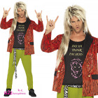 Mens 80s Rock Star 1980s Adult  Mod Pop Rod Stewart Rocker Fancy Dress Costume