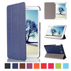 Luxury Leather PU Stand Flip Case Cover For Samsung Galaxy Tab E 8.0 SM-T377 8""
