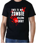 THIS IS MY ZOMBIE KILLING T SHIRT WALKING DEAD KIDS T SHIRT