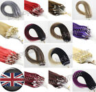 Loop Micro Ring Beads Link Remy Human Hair Extensions Balayage Ombre Color 0.5gr