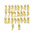 New Arrival Real 999 24K Yellow Gold Women's Letter Small Pendant