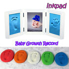 Baby Care Air Drying Soft Clay Baby Handprint Footprint Imprint Kit Casting US