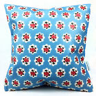 Vintage WATERPROOF OUTDOOR PVC COATED GARDEN BENCH SEAT CUSHIONS. BUNTING