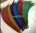 Beautiful! Copper chicken feather length 80-90 cm / 32-36 in. various colors