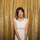 4x6.5ft Wedding Sequin Backdrop Photo Booth Backdrop Chistmas Sequin Curtains