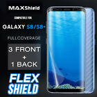 TAGGSHIELD [Full Coverage] SCREEN PROTECTOR FILM FOR Samsung Galaxy S8/S8 Plus