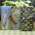 Zoo Garden Shell Feather Wallet Pouch holder flip case cover for Nokia iphone