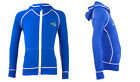 Kids Hoodie Front Zip Rash Guard Jacket Long Sleeve Rash Swim Surf Shirt UPF50+