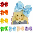 4.5 Inch Girls Dot Bowknot Hair Bows Baby Boutique Hair Clips Hair Accessories