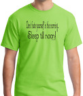 Bayside Made USA T-shirt Don't Hate Yourself In The Morning Sleep Till Noon