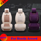 Bring New For Honda Accord Flax Car Seat Cover Vehicle Chair Cushion Protector