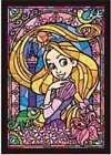 Counted Cross Stitch Pattern or Kit, Disney Rapunzel Stained Glass, Tangled