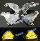 Led Front Turn Signal Light Fit KAWASAKI ZX14 ZX-14R ZZR1400 Concours 14 GTR1400