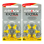 Rayovac Extra Hearing Aid 10 Size batteries * Zinc air * Mercury free * EXP:2020