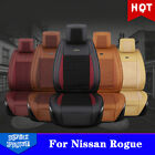 Bring Car Seat Cover For Nissan Rogue PU Leather+Ice Silk Cushions 5 Seats C37LJ