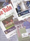 Deveronvale Home programmes 2000's Scottish Cup, Highland League