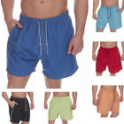 Mens Swim Shorts Boys Beach Surf Summer Holiday Microfibre Swimming Trunks S-XXL