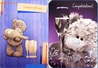 """Me To you Tatty Teddy Male """"CONGRATULATIONS"""" Cards ~ 2 Listings"""