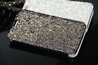 Luxury Austria Diamond Crystal Leather Pouch Case For Samsung Galaxy S8 S8 Plus