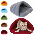 Cute Cat Dog House Puppy Cave Pet Sleeping Bed Mat Pad Soft Slippers kennel