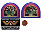 Alien Movie USCSS Nostromo Crew Costume Cosplay Patches and Crew Die Cast Pin
