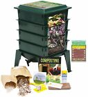 Worm Factory 360 Farm Compost / Vermicompost Bin Kit + BONUS Infographic Magnet