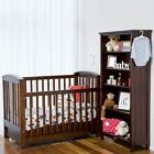 NEW Touchwood Meadow Bar Cot with Drawer in Brown