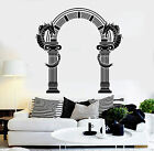 Vinyl Wall Decal Ancient Greek Column Arch Dragons Decor Stickers (ig4770)
