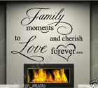 WALL QUOTES WALL DECAL STICKERS  FAMILY WALL QUOTE STICKERS WALL ART DECAL  V91