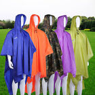 Multi-function Unisex Raincoat Backpack Raincover Poncho Picnic Ground Mat BG