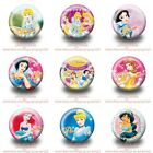 9-45PCS Princess Tin Buttons Round Pins Brooch Badges 30mm Kids Party Best Gift