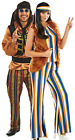 Couples Ladies AND Mens 60s Rock Star Hippie Hippy Fancy Dress Costumes Outfits