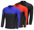 Mens Compression Base Layer Full Sleeve Top Long Sleeve Thermal Gym Sports Shirt