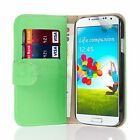LEATHER WALLET CASE COVER FOR SAMSUNG GALAXY Mobile PHONE