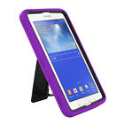"Hybrid Tough Hard Stand Cover Case for Samsung Galaxy Tab e/3 LITE 7"" 7.0 T110"