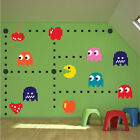 PacMan Wall Decal Sticker PacMan Bedroom Video Game Pacman Wall Art Design n52