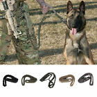 Outdoor Puppy Dog Training Walk Military Tactical Leash Elastic Bungee Strap BO