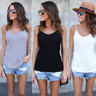 Women Ladies Sleeveless Vest Blouse Casual Tank Tops Camisole T-Shirt Summer