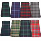 New Adult Scottish Wedding Mens Kilt 8 Yard Polyviscose Range of Tartans BNWT